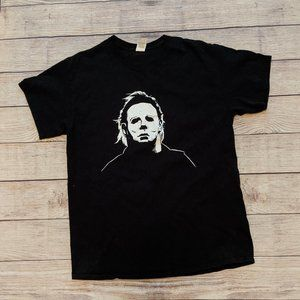 Michael Myers Black T-Shirt Size L
